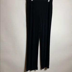 Chico's Traveler Pants Sz 3R Black Super Soft
